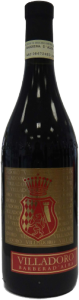 Villadoro Barbera d'Alba vino rosso