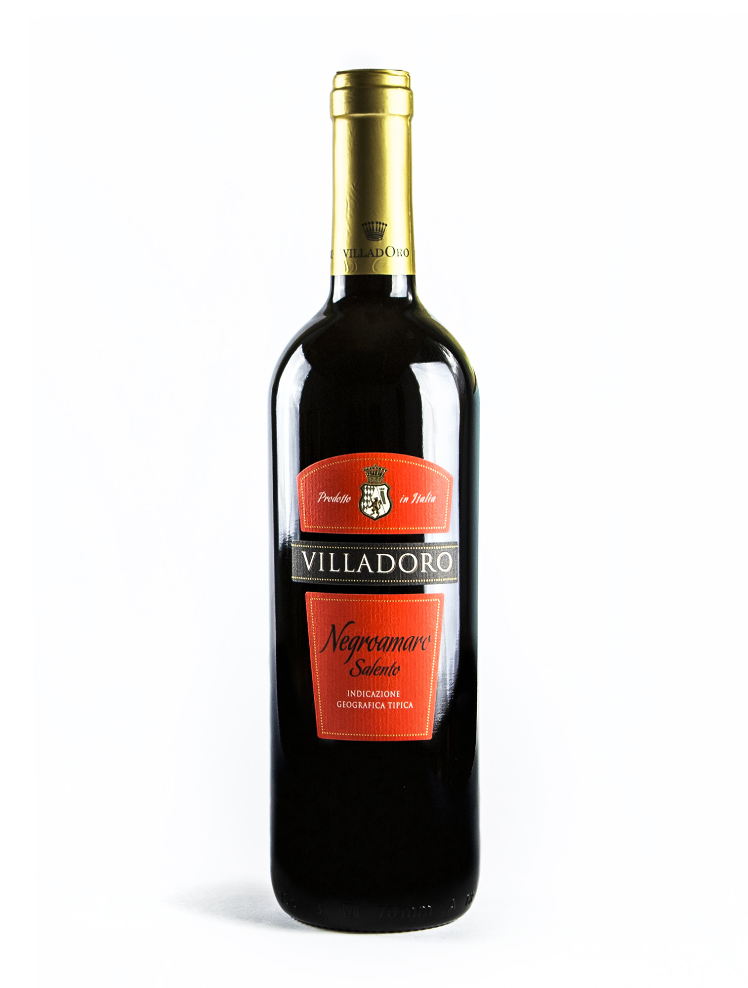 VILLADORO Negroamaro vino rosso italiano