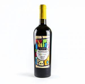 Villadoro Novello Arlecchino vino rosso