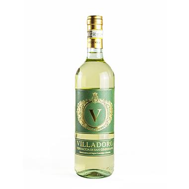 VILLADORO Vernaccia vino bianco