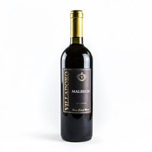 Villadoro vino rosso Malbech