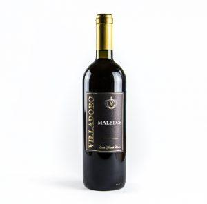 Villadoro vini rossi Malbech